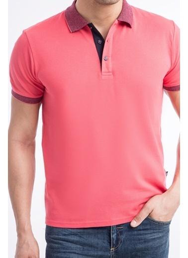 Kiğılı Polo Yala Tişört Kırmızı